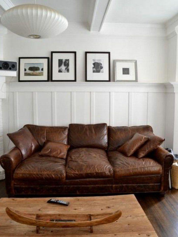 Le canapé club, quel type de canapé choisir pour le salon? | Диваны ...