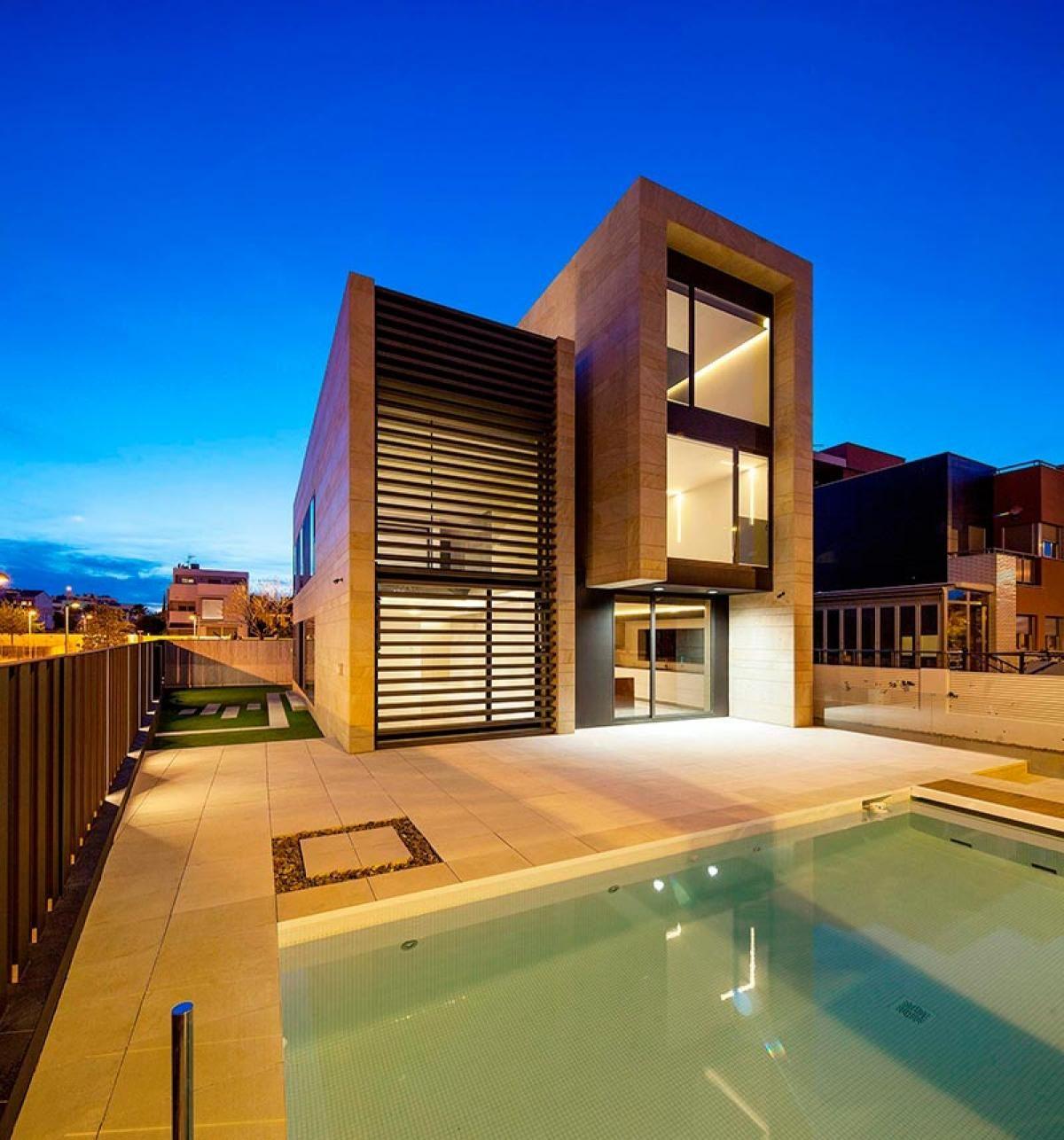 Arquitectura moderna vs arquitectura contempor nea for Tendencia minimalista arquitectura
