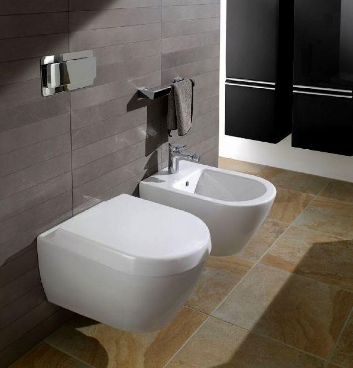 Villeroy And Boch Soho Wall Hung Wc Wall Mounted Toilet Wall Hung Toilet Bathroom Design Small