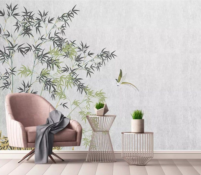 3d Chinese Vintage Bamboo Wallpaper Removable Self Adhesive Wallpaper Wall Mural Vintage Art Peel And Stick Bamboo Wallpaper Forest Wallpaper Wallpaper