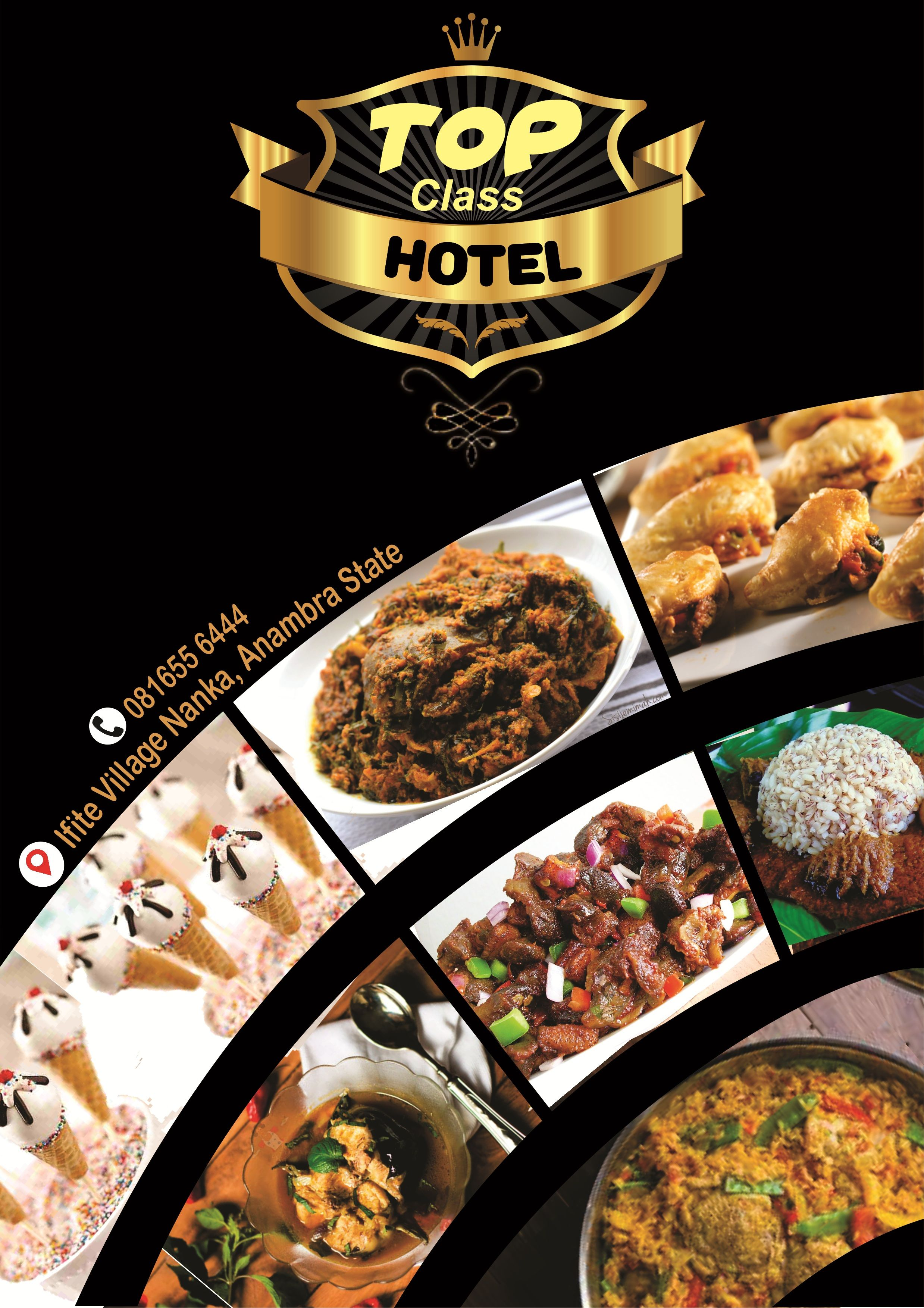 African Foods Flyer Design Flyer Design Templates Food Poster