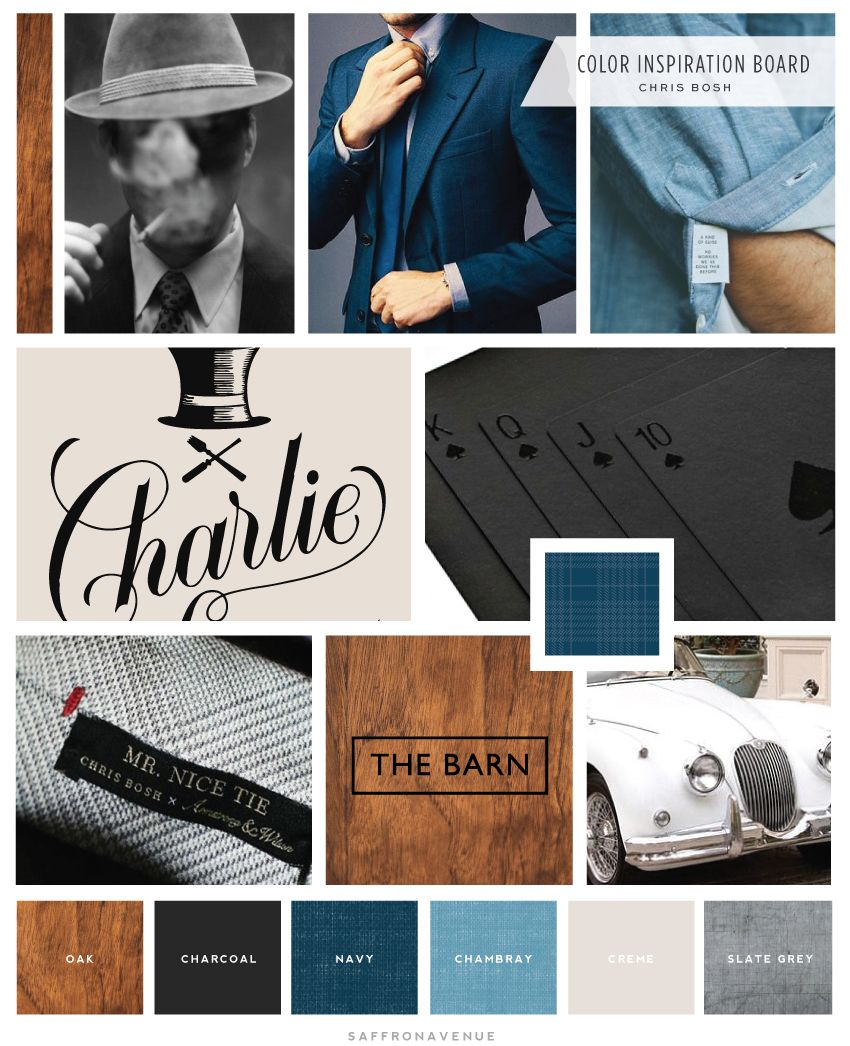 Brand and Website Launch for Chris Bosh #moodboards