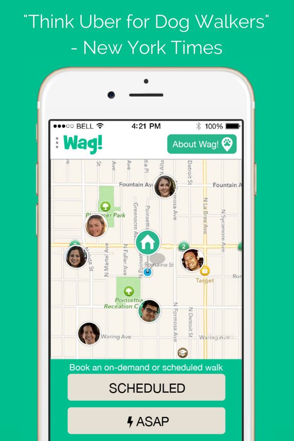 Wag! The dog walking app. Find the perfect dog walker near
