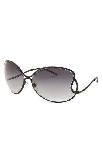 Fendi Fashion Metal Frame Sunglasses