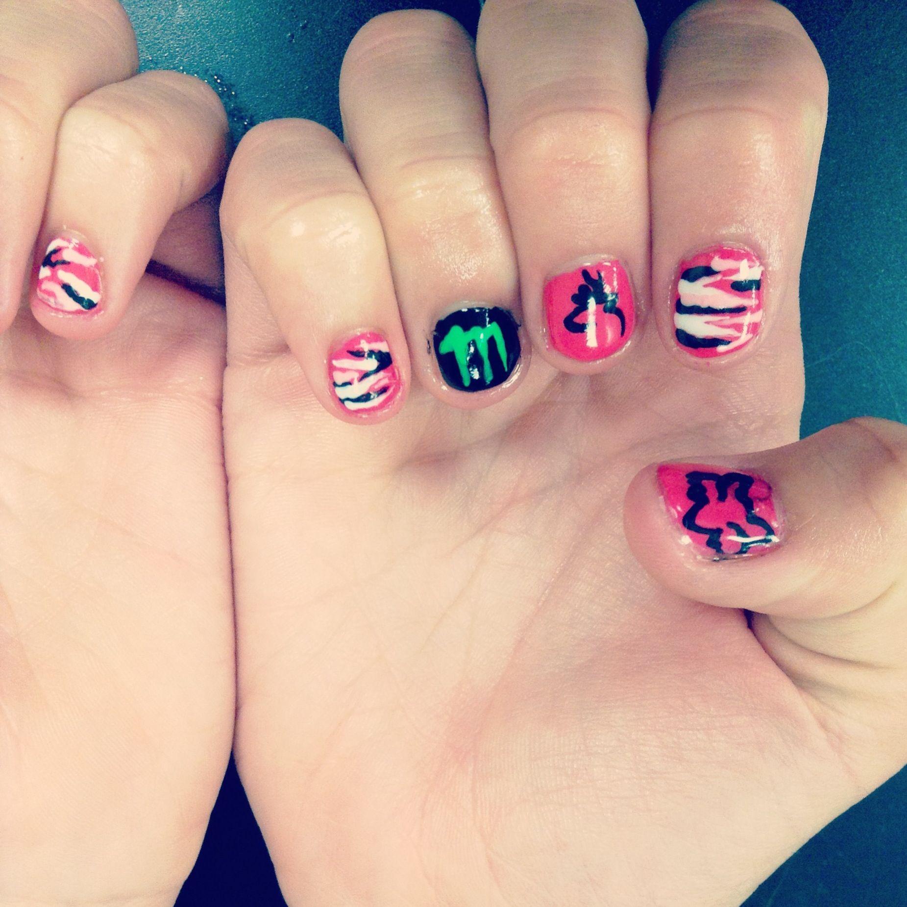 Country Nails: Country Girl Nails. Nail Art
