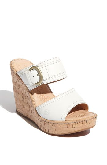 e83a7893fe7 Børn  Zee  Wedge Sandal. Nordstrom. These are INCREDIBLY comfortable for  the height. I went to a wedding in North Carolina