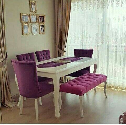 pin oleh maharany furniture di kursi makan | ruang makan