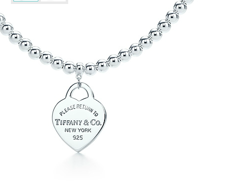 Tiffany small bead heart tag necklace addicted to jewelry charms tiffany and co necklace return to bead silver 076 mozeypictures Choice Image