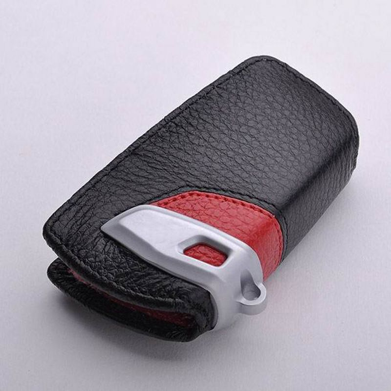 Leather Car Key Cover Leather Car Key Wallet Case For Bmw X3