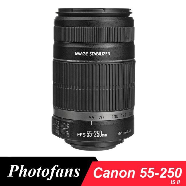 >> Click to Buy << Canon camera lens 55-250mm f/4-5.6 EF-S IS II Image Stabilizer Lenses for Canon 650D 700D 60D 7D Rebel T3i T4i T5i Camera Lente #Affiliate