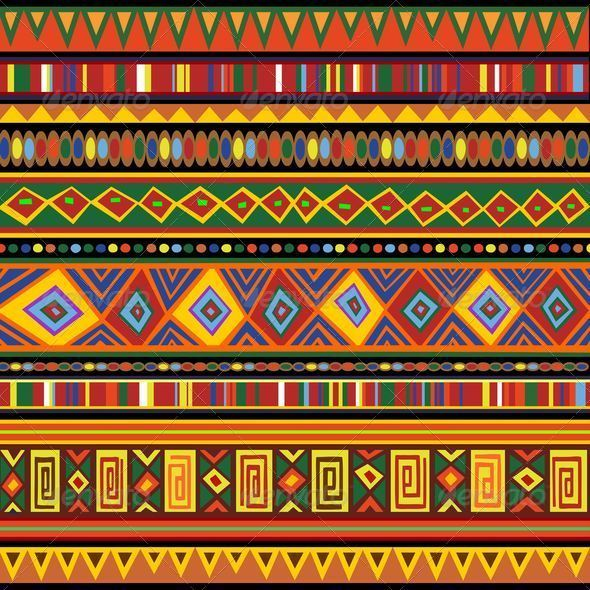 Ethnic Colorful Pattern Africa Art Africa Art Africa And Patterns