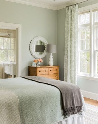benjamin moore quiet moments basement for the home pinterest rh pinterest com sage green bedroom decorating ideas sage green bedroom ideas