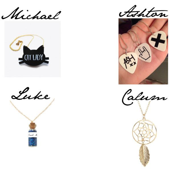 """""""5 Seconds of Summer preferance (The neacklace he buys you)"""" by vawesome1201 on Polyvore"""