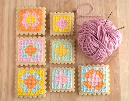 granny squares yummi!