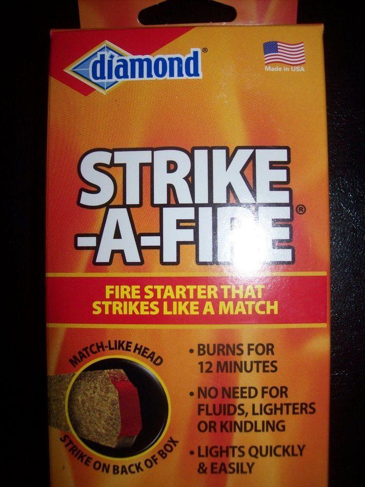 Diamond Strike-a-Fire Match/Fire Emergency Made in the USA! Fast Shipping! #Diamond
