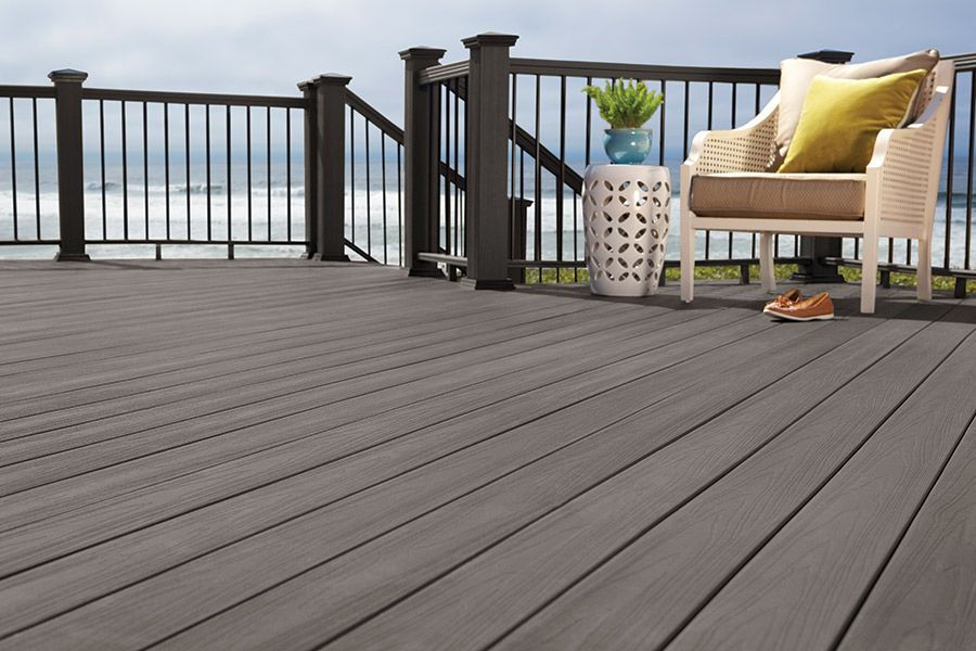 ArmorGuard Decking- Seaside Gray | Composite Deck Ideas in