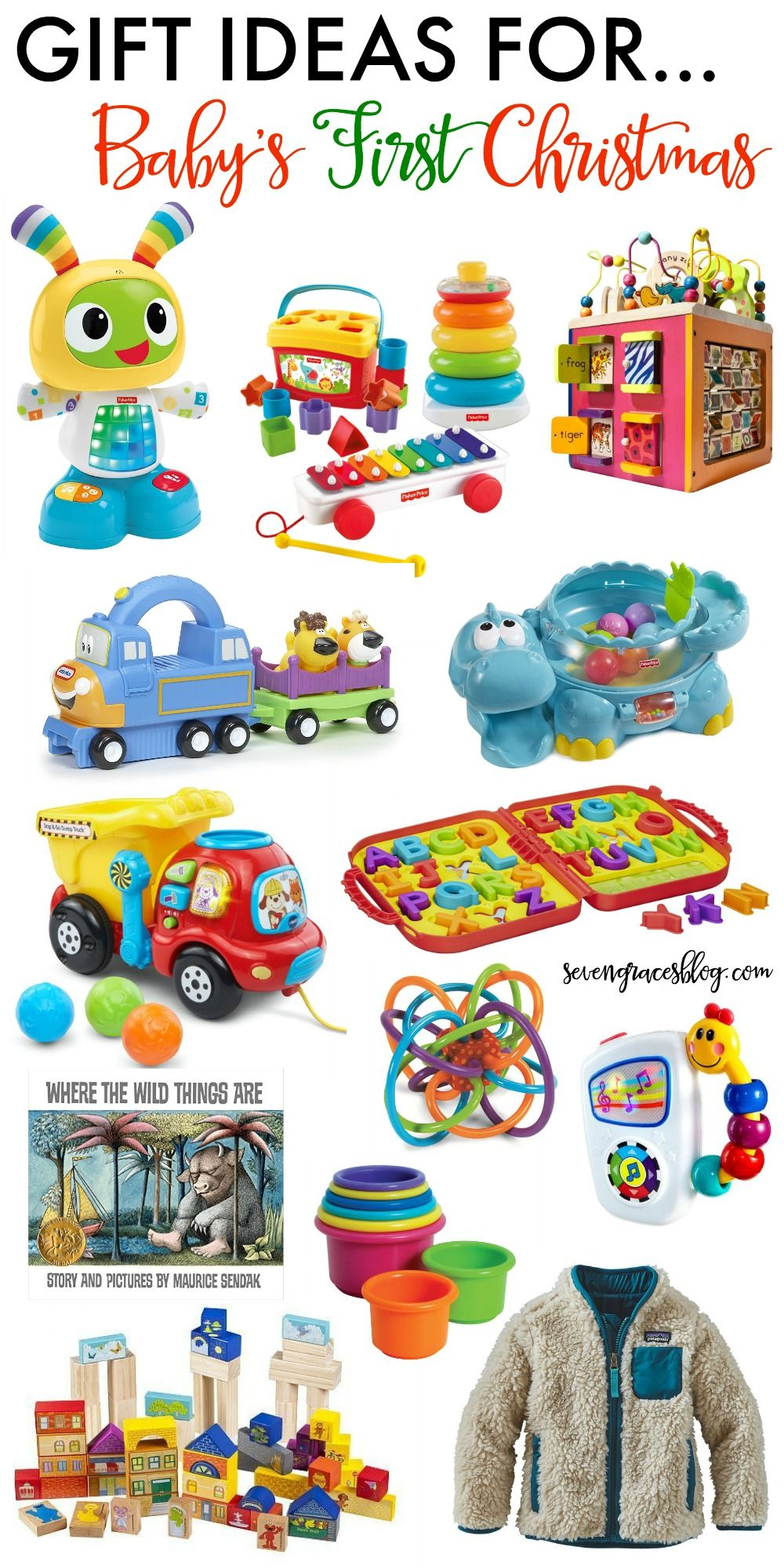 004c9e517c38a The best baby toys and gift ideas for baby s first Christmas. These gifts  will grow with baby well into the toddler years. Great picks for boys and  girls!