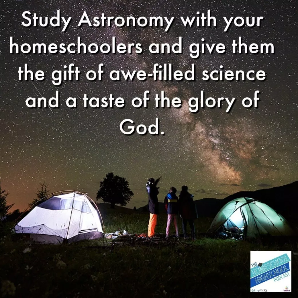 Hshsp Ep 154 Astronomy For Homeschool High School