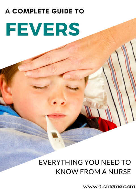 how to break a high fever in children