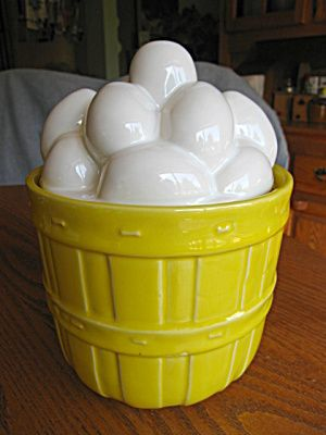 Cookie Jars For Sale Online Stunning For Sale Online At More Than McCoy On TIAS McCoy Pottery Egg Basket