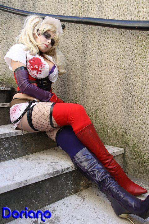 Girlfriend of joker by YurikoTiger.deviantart.com on @deviantART