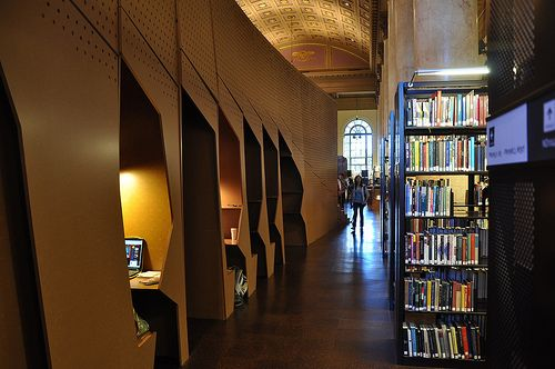 Study Carrels At The Rhode Island School Of Design Library Inspiration How To Create