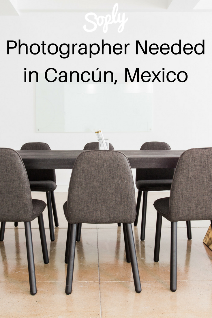 Photographer needed for a #conference in Cancun, Mexico  The