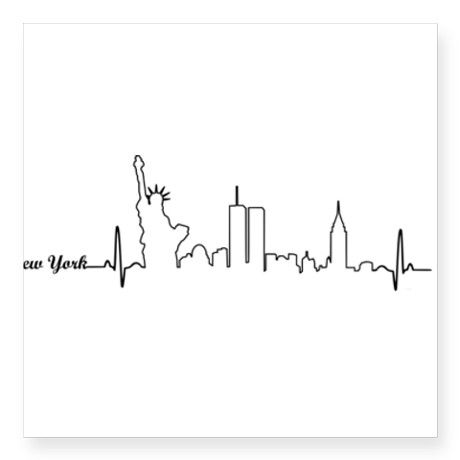 5 letter words ending in ny new york heartbeat letters sticker nyc 16481