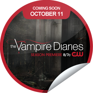 Steffie Doll's The Vampire Diaries Season 4 Coming Soon Sticker | GetGlue (9/20/12)
