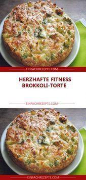 Herzhafte FITNESS Brokkoli-Torte 😍 😍 😍  Herzhafte FITNESS Brokkoli-Torte 😍 😍 😍    This image has get...