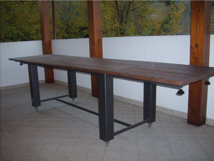 Tavoli Allungabili Legno E Ferro.Tavolo Allungabile In Legno E Ferro Decor Home Decor Home