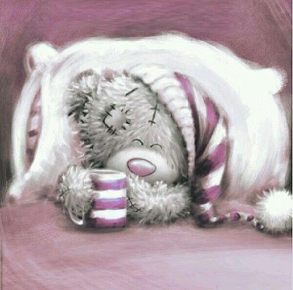 Картинки заболела мишка тедди