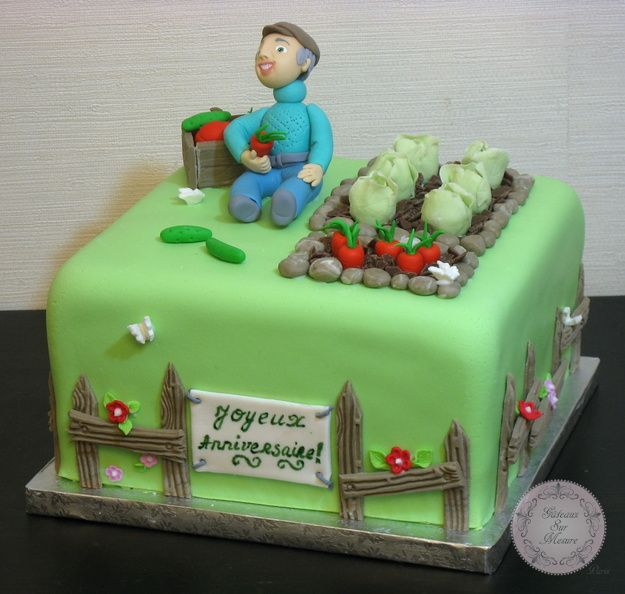 Exposition Cake Design : Gateau du Mara?cher (from Gateaux sur Mesure Paris - Cake ...