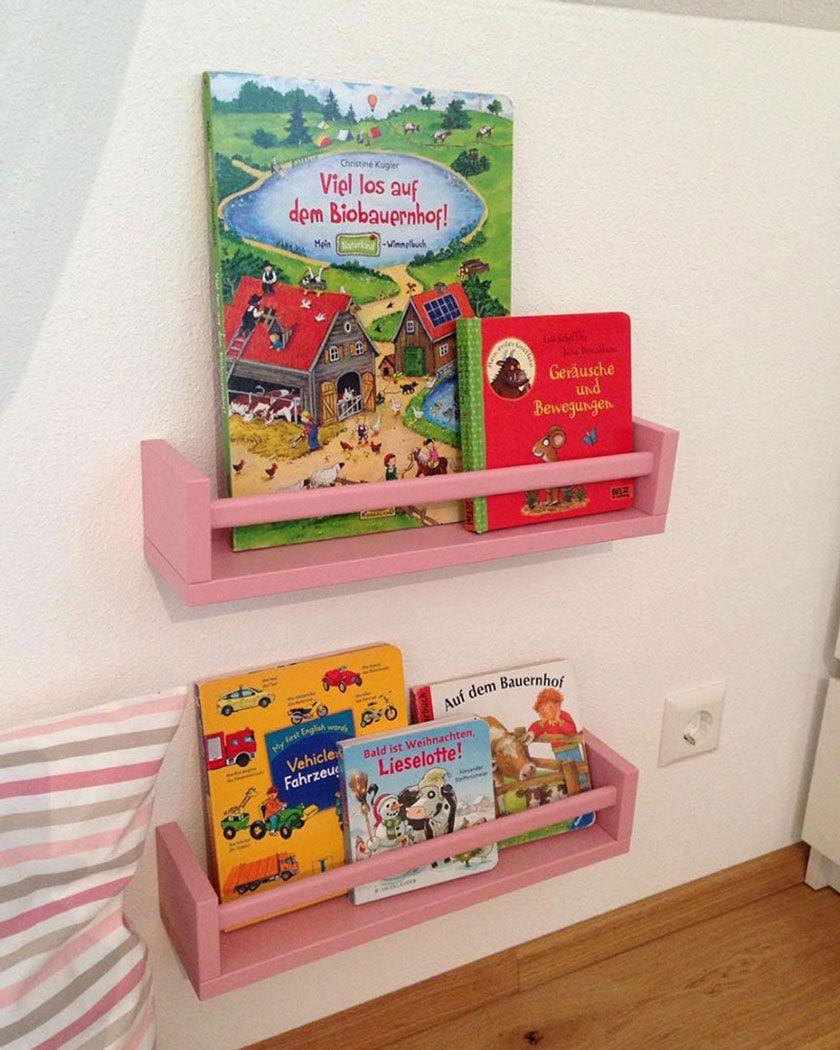 Aus Dem IKEA BEKVÄM Gewürzregal Lässt Sich Ein Tolles Bücherregal Für Das  Kinderzimmer Basteln. Oder Eine Schöne Garderobe. Wir Zeigen Die Schönsten  Ideen!