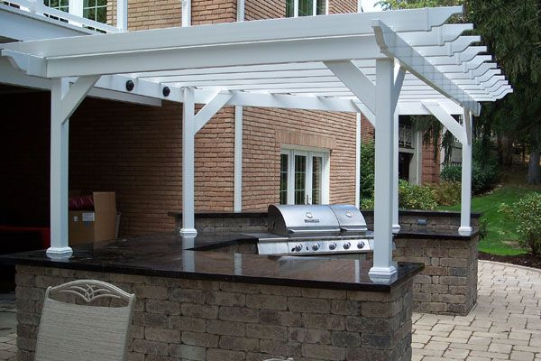 Klein S Lawn Landscaping Hardscapes Creative Carpentry Pergola Pergola Shade Cover Pergola With Roof