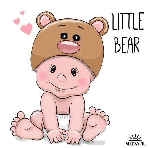 Cute Cartoon Baby Baby Cartoon Baby Art Safari Baby Png