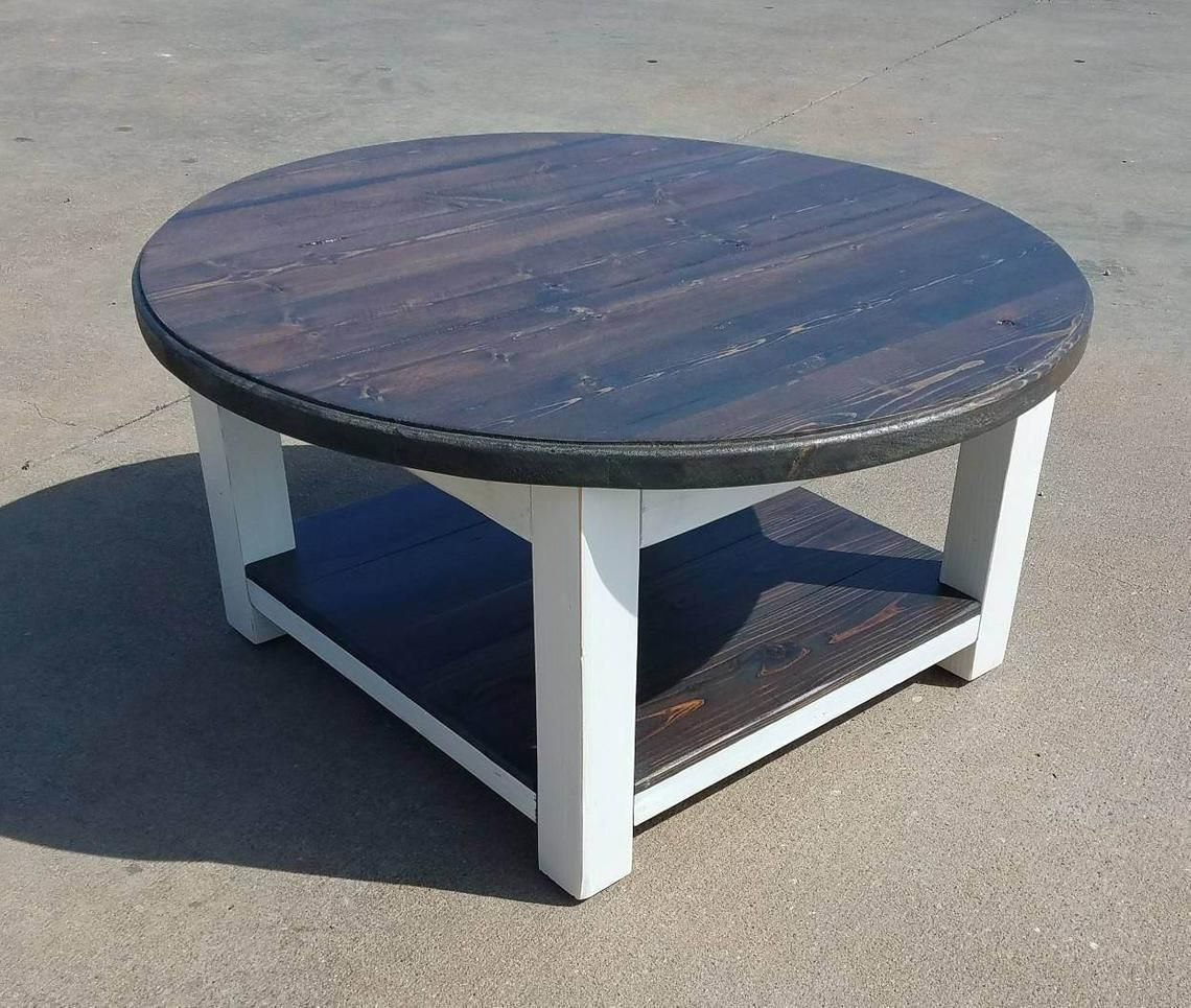 20+ Wood round farmhouse coffee table most popular