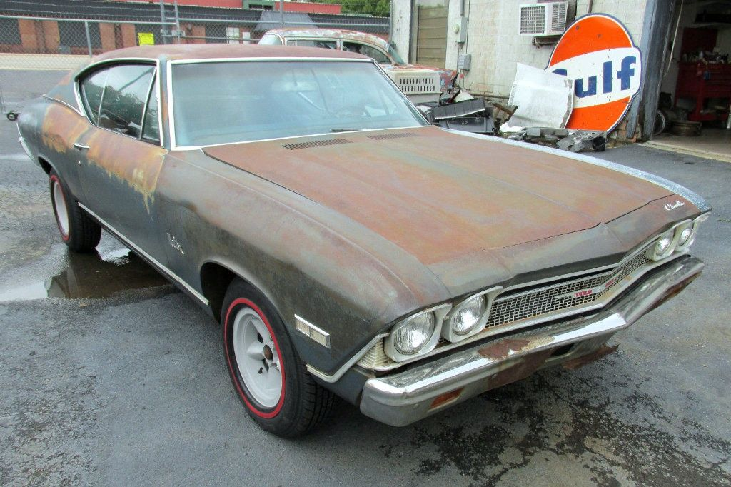 1968 Chevelle Malibu: Chevy\'s Muscle Car | Barn finds, Chevrolet ...