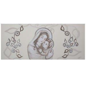 Capezzale camera da letto classico Maternità argento nel ...