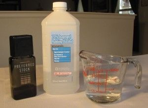 Homemade Hand Sanitizer Recipe Homemade After Shave Window