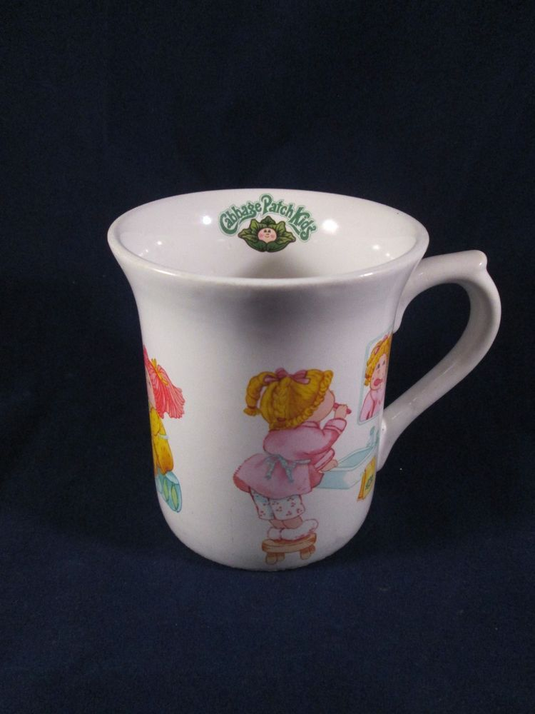 Cabbage Patch Kids Vintage 1984 Coffee Cup Mug O A A Inc 84 Edition Cute Used Mugs I Love Coffee Cabbage Patch Kids