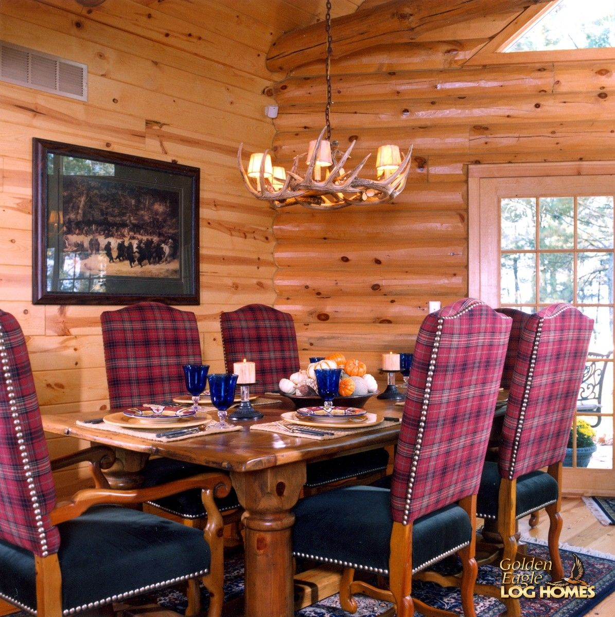 Superieur Golden Eagle Log And Timber Homes: Log Home / Cabin Pictures, Photos:  Custom Eagle Prow V