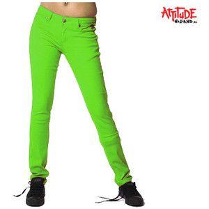lime green skinny jeans - Jean Yu Beauty