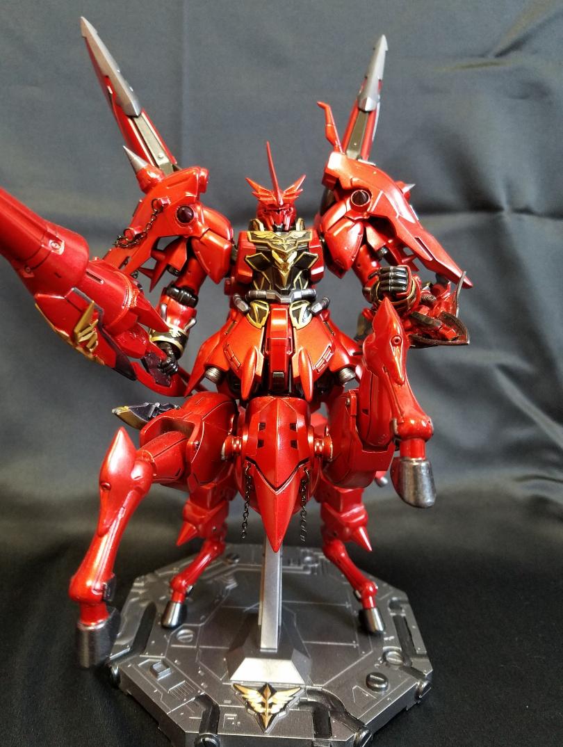 Gundam Guy 1 144 Sinanju Centaur Custom Build Mec Bandai Hgoo Gnt 0000 00 Qant Qanta