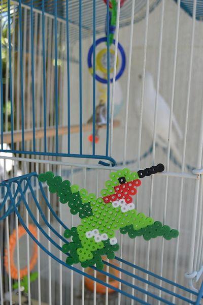 Hummingbird perler beads