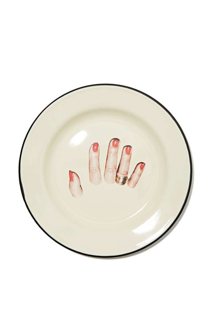 Seletti Wears Toiletpaper Plate - Fingers - Festive Fiend | All | Under $50  sc 1 st  Pinterest & Seletti Wears Toiletpaper Plate - Fingers - Festive Fiend | All ...