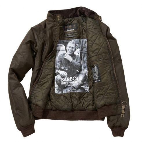 Barbour Steve Mcqueen Merchant Wax Jacket Olive