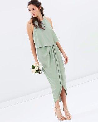 43+ Sage green midi dress ideas