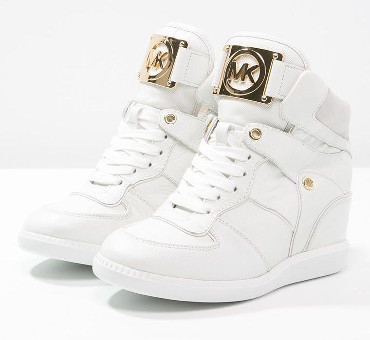 Bien connu MICHAEL Michael Kors NIKKO Baskets montantes optic white prix  NW02