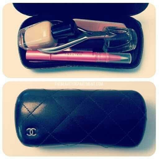 Modern day nail kit. All you need should fit in a sun glass case ...